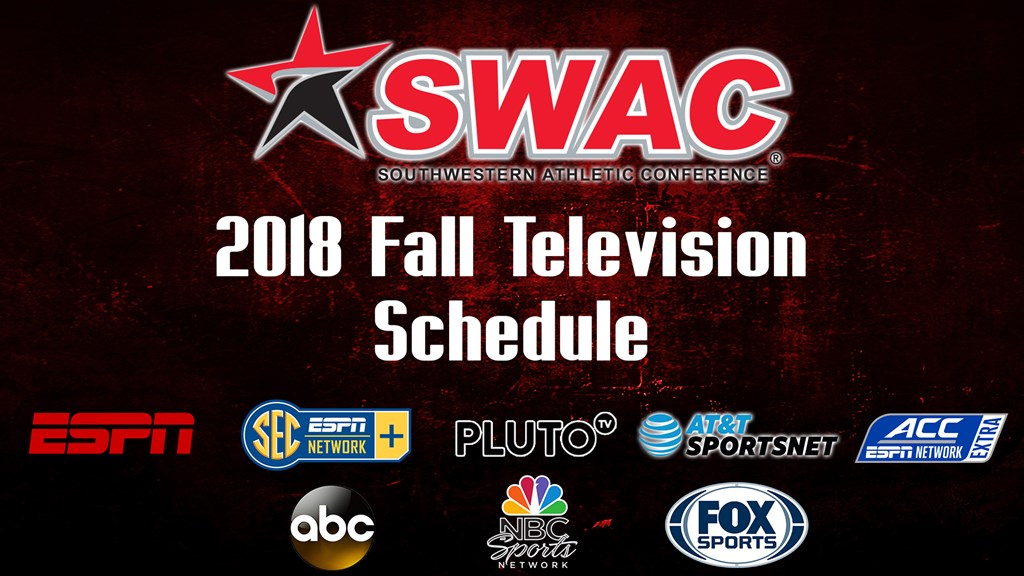 2018 Football television schedule announced - Southwestern Athletic