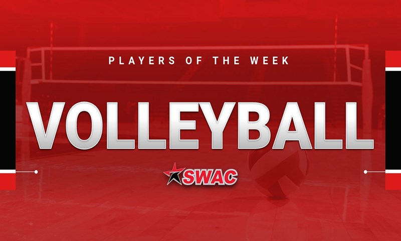 SWAC Volleyball Players of the Week- Sept. 3